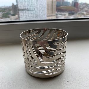 Bath & Body Works Metal Candle Holder, Zebra